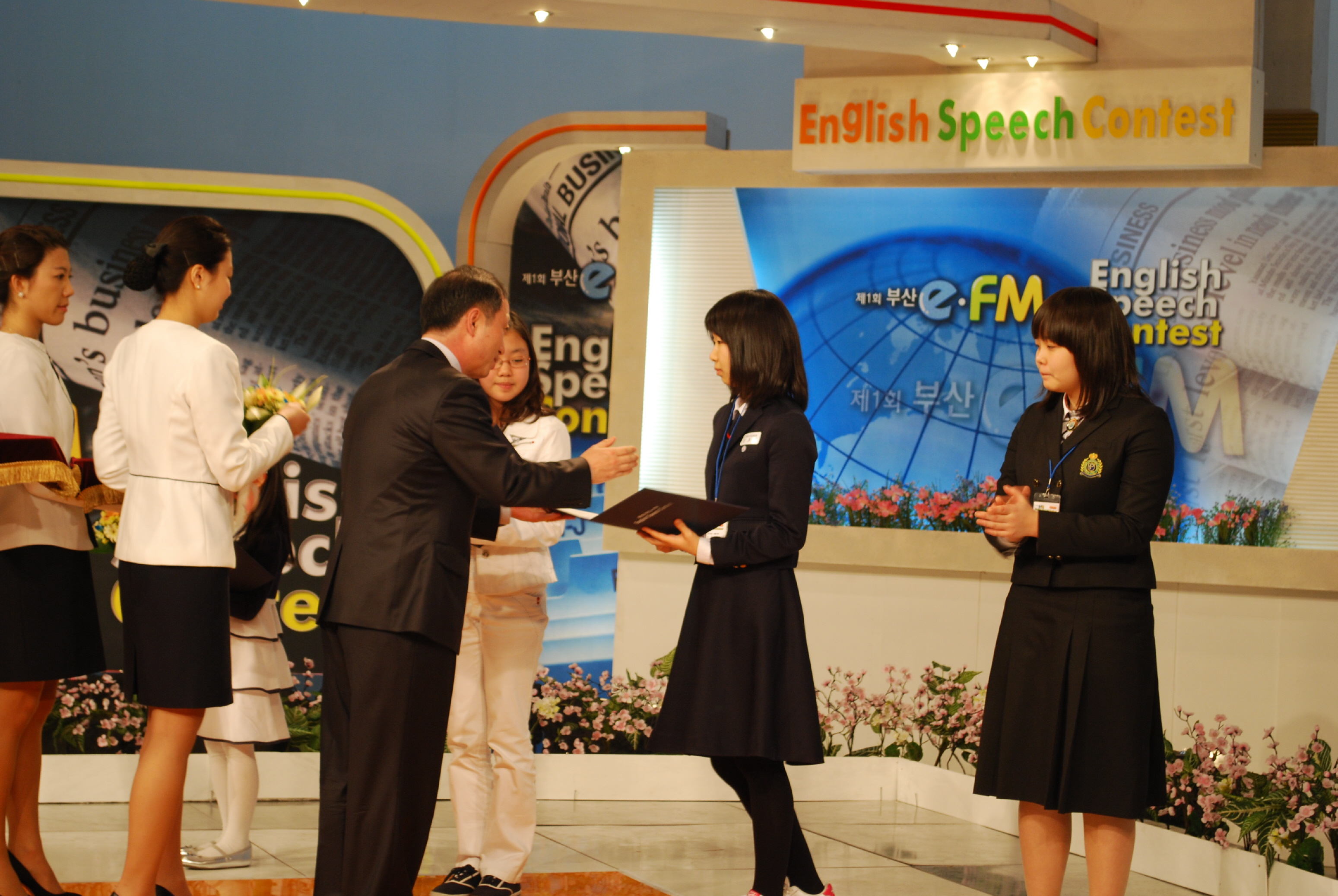 Speech Contest(2009.4.5) Photo